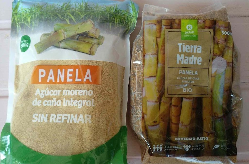 Panela. Alternativa saludable al azúcar refinado.