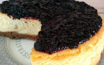 Cheesecake auténtica americana