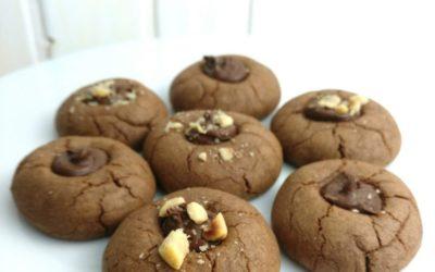 Galletas rápidas y fáciles de nutella o nocilla.(Nutellotti)