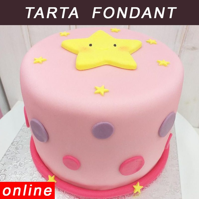 curso tarta fondant