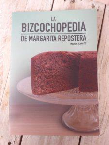 Libro la bizcochopedia de Margarita repostera
