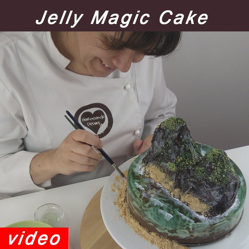 curso tarta magic jelly cake