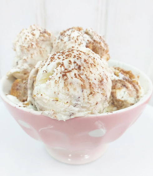 Helado de tiramisú sin heladera