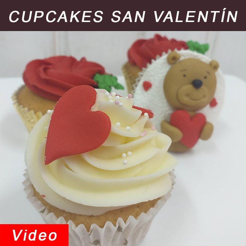 curso online cupcakes san valentín